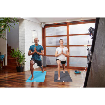 Short yoga doux femme coton issu de l'agriculture biologique - 1105381