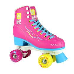 Rolschaatsen Quad KRF School TCI voor kinderen Limited Edition roze
