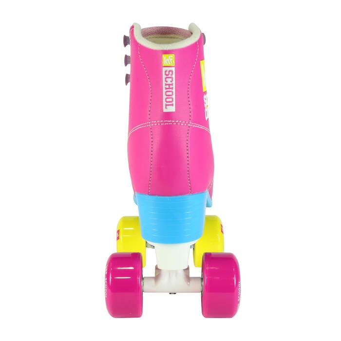 Patins à roulettes enfants QUAD KRF SCHOOL TCI Limited Edition Rose - 1105551
