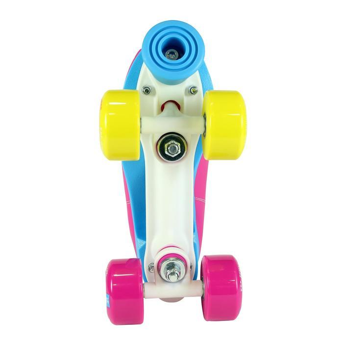 Patins à roulettes enfants QUAD KRF SCHOOL TCI Limited Edition Rose - 1105553