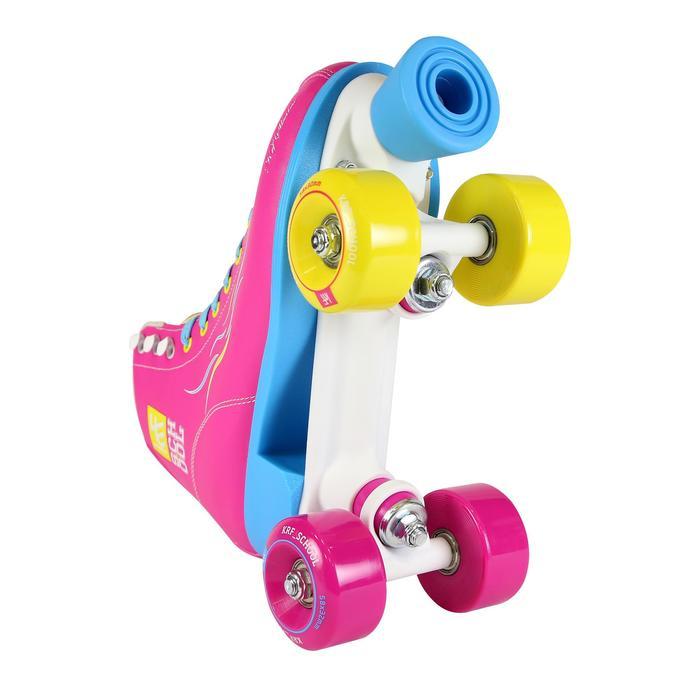 Patins à roulettes enfants QUAD KRF SCHOOL TCI Limited Edition Rose - 1105554