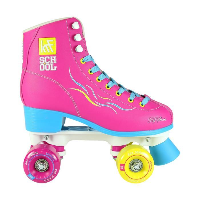 Patins à roulettes enfants QUAD KRF SCHOOL TCI Limited Edition Rose - 1105556