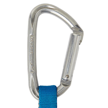 CLIMBING AND MOUNTAINEERING QUICKDRAW KLIMB 17 CM - GREY
