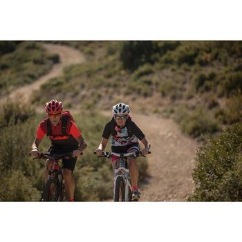 Lunettes de vélo adulte CYCLING 500 BLACK/RED noires et rouges catégorie 3 - 1105862