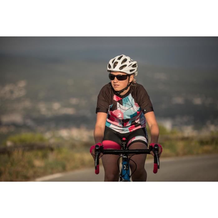 ST 100 Adult's Category 3 Mountain Biking Sunglasses - Grey