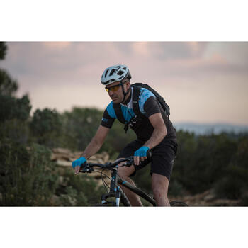 XC 100 Blue Pack Adult Cycling Sunglasses - 4 Interchangeable Lenses - Blue - 1105902