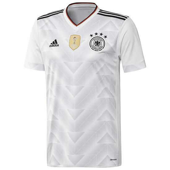 Voetbalshirt Duitsland thuisshirt confederations cup 2017 volwassenen wit - 1105979