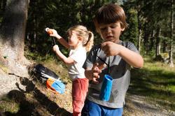 Monoculair M300 voor wandelen, voor kinderen, 8x vergroting, fixed focus - 1106008