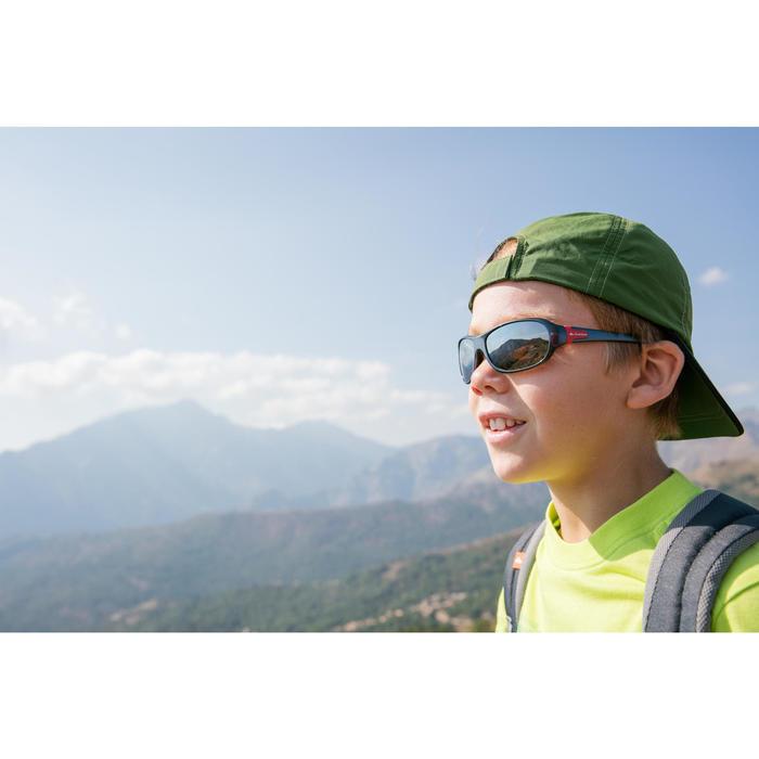 Zonnebril trekking voor kinderen 7-10 jaar MH T 500 grijs categorie 4
