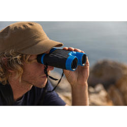 Prismáticos Montaña Senderismo Quechua MH B 540 Aumento X10 Adulto Negros/Azules