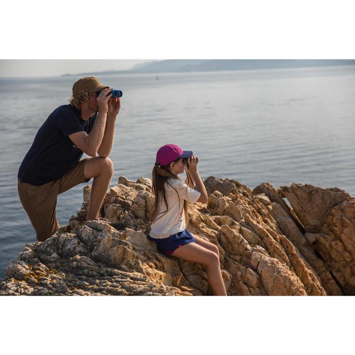 Kids Hiking binoculars x8 magnification without adjustment - MH B120 - Grey