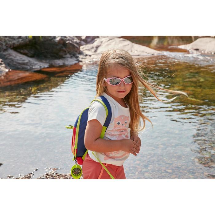 Lunettes de soleil randonnée enfant 2-4 ans KID 300 W fleurs roses catégorie 4 - 1106055