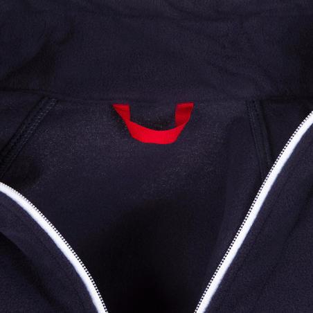 Дитяча флісова кофта 100 для вітрильного спорту - Темно-синя