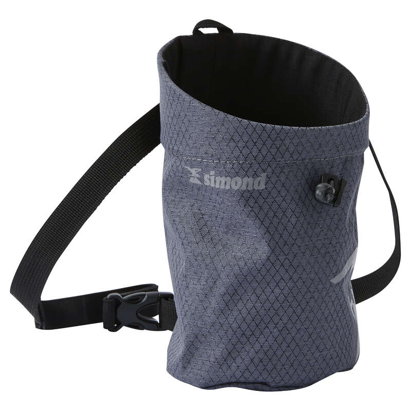 CHALK & HANDCARE Climbing - CHALK BAG SIZE XL GREY SIMOND - Climbing