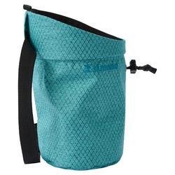 攀岩粉袋-菱格藍色
