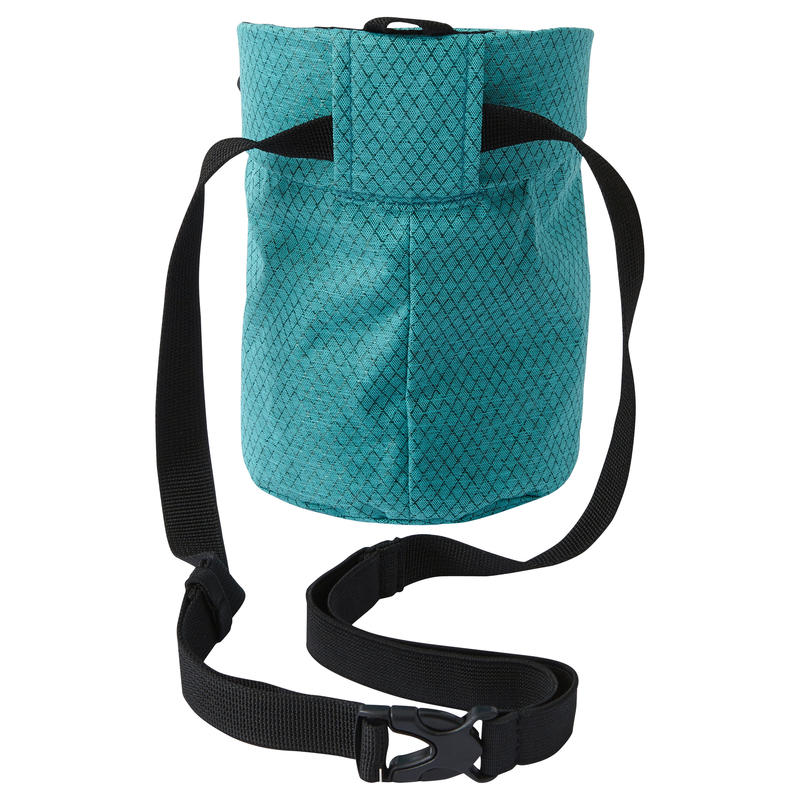 Climbing And Mountaineering CHALK BAG SIZE XL DIAMOND CARIBBEAN BLUE