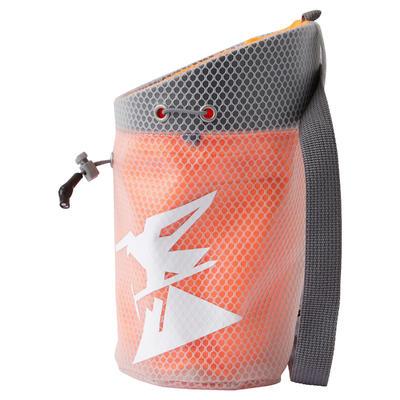 CHALK BAG HONEYCOMB SIZE XL NEON ORANGE