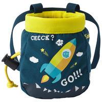 CHALK BAG SIZE S MOUNTAIN ROCKET PETROL BLUE