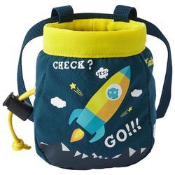S號「登山火箭」石油藍攀岩粉袋