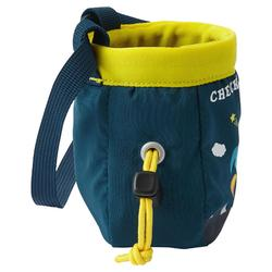 CHALK BAG SIZE S MOUNTAIN ROCKET PETROL BLUE