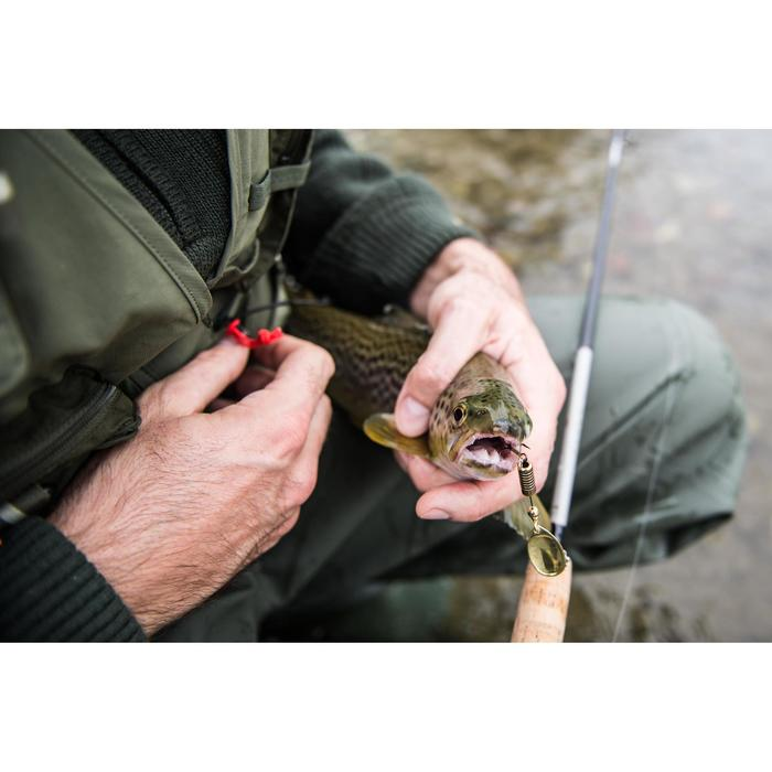 釣魚背心CAPERLAN500-卡其色