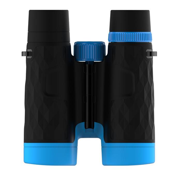 Jumelles randonnée adulte avec réglage MH B 540 grossissement x10 noires/bleues - 1106945