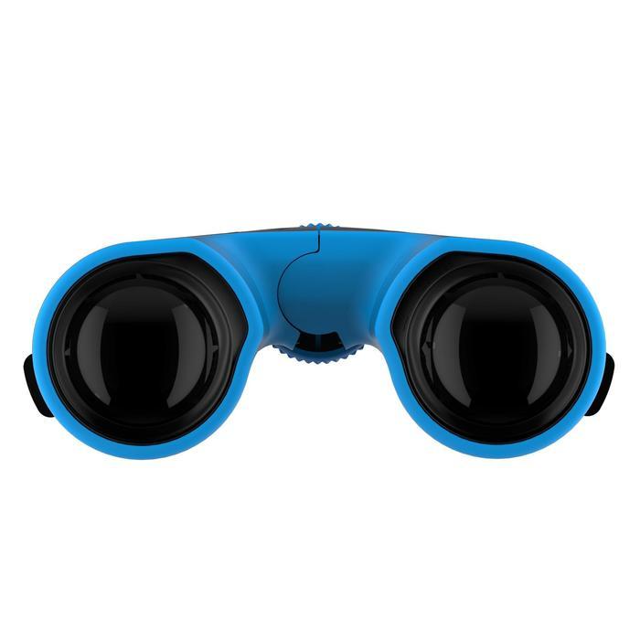 Jumelles randonnée adulte avec réglage MH B 540 grossissement x10 noires/bleues - 1106953