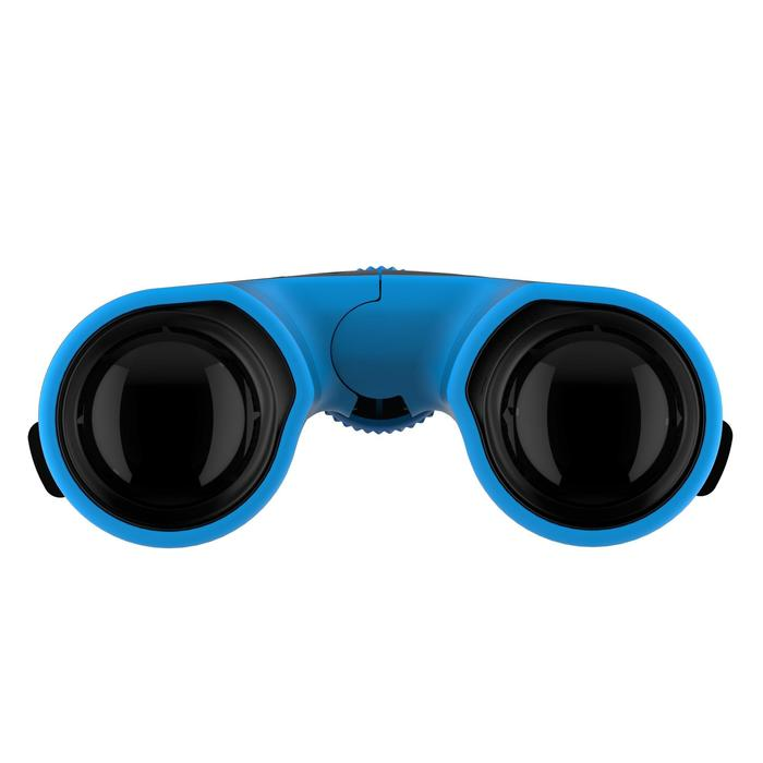 Prismáticos de senderismo adulto con ajuste MH B 540 aumento x10 negros/azules