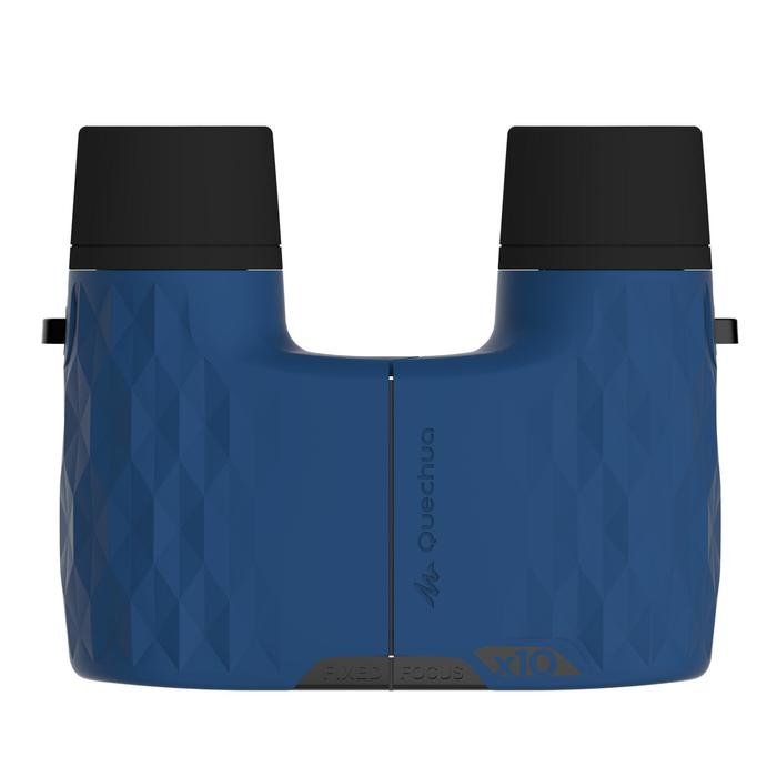 Primáticos Montaña y Senderismo Quechua MH B 140 Aumento X10 Sin Ajuste Azules