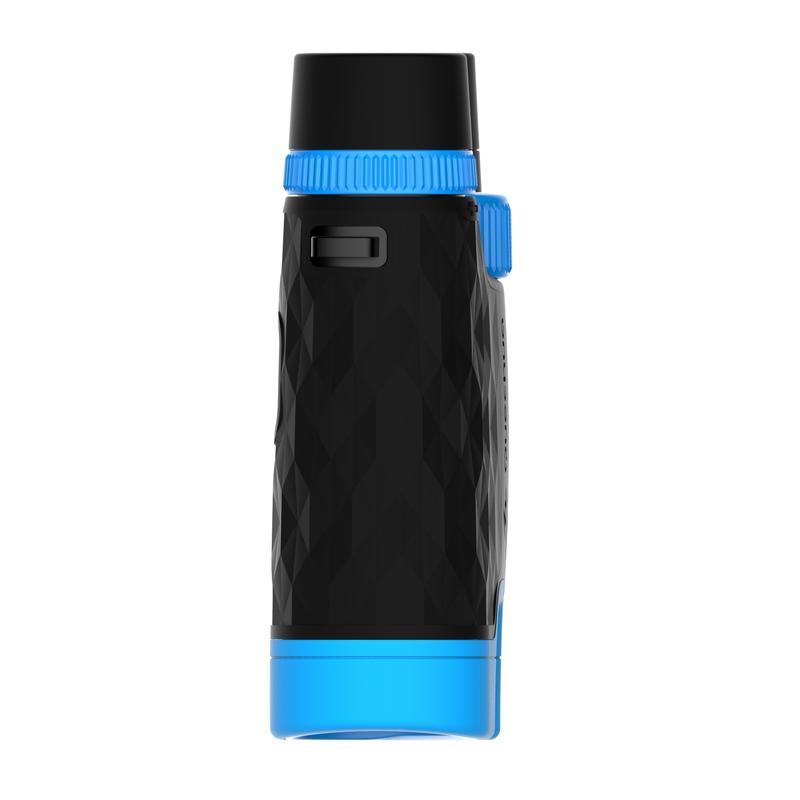 MH B 540 Adjustable Adult Hiking x10 Magnification Binoculars - Black/Blue