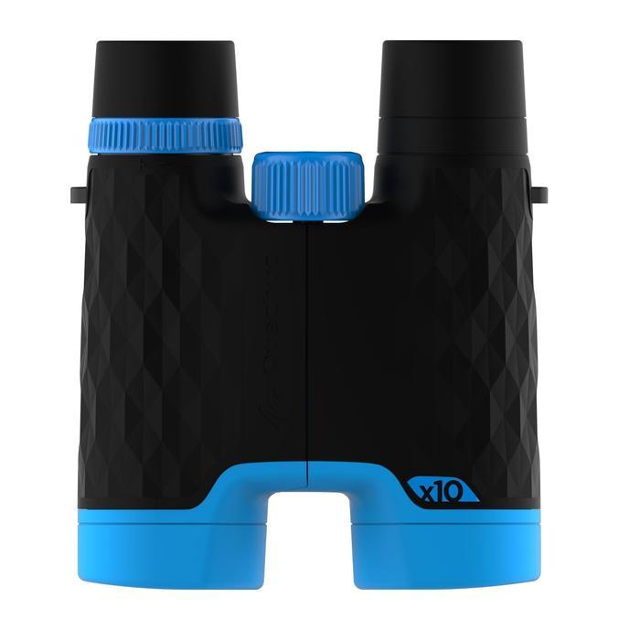 Fernglas einstellbar MH B 540 10x-Vergrößerung schwarz/blau