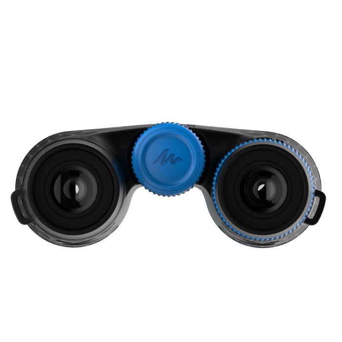 Jumelles randonnée adulte avec réglage MH B 540 grossissement x10 noires/bleues - 1106982