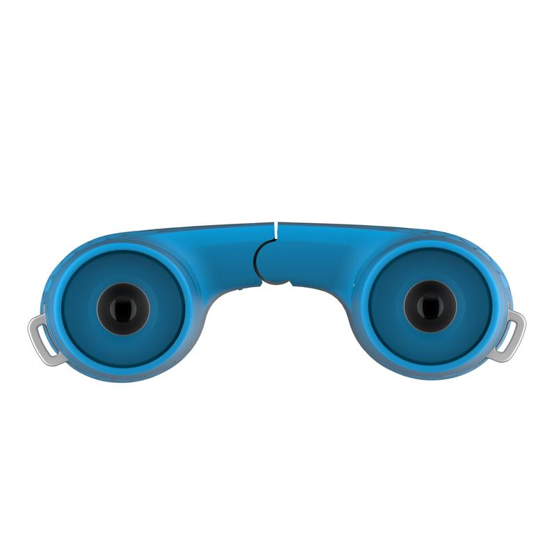 Children's binoculars without adjustment x8 magnification - Blue