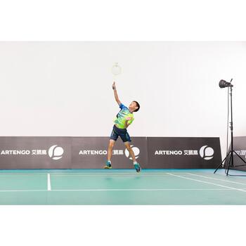 Badmintonracket voor kinderen BR 800 geel 100% grafiet