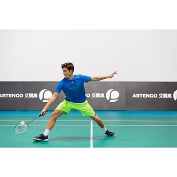 Tennis T-shirt heren Soft 100 blauw