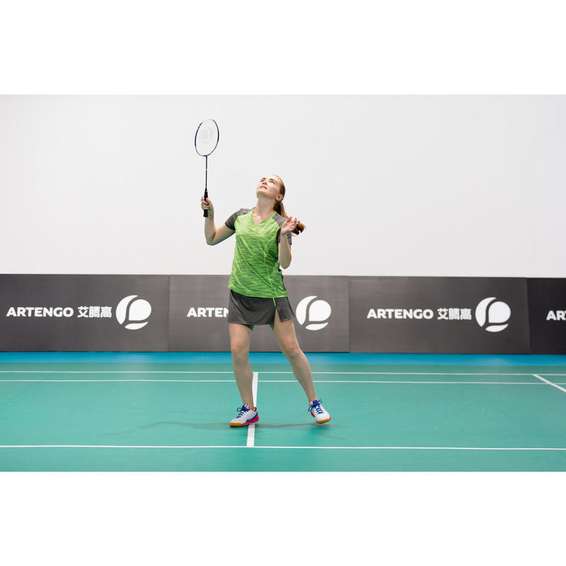 0d6555dd73 Racchetta badminton adulto BR800 nero-giallo
