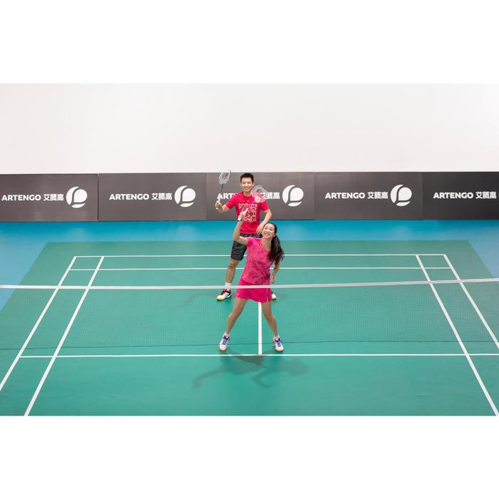 Couples' Adult Badminton Racket Set - Blue / Pink