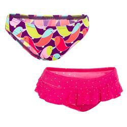 Set van 2 zwembroekjes voor meisjes Madi Seya roze