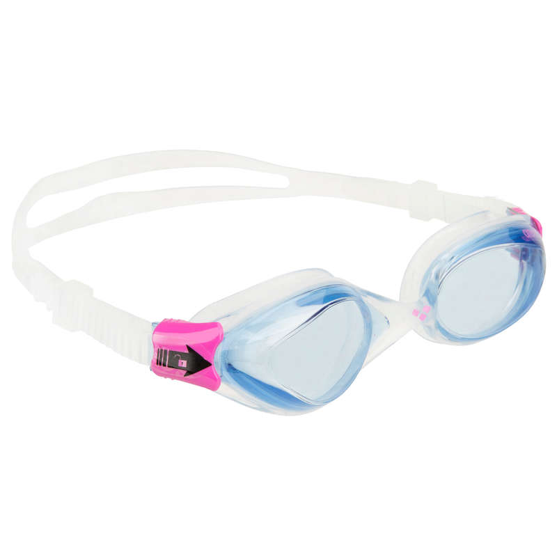 SWIMMING GOGGLES OR MASKS Swimming - FLUID Swimming Goggles - Pink ARENA - Swimming Accessories
