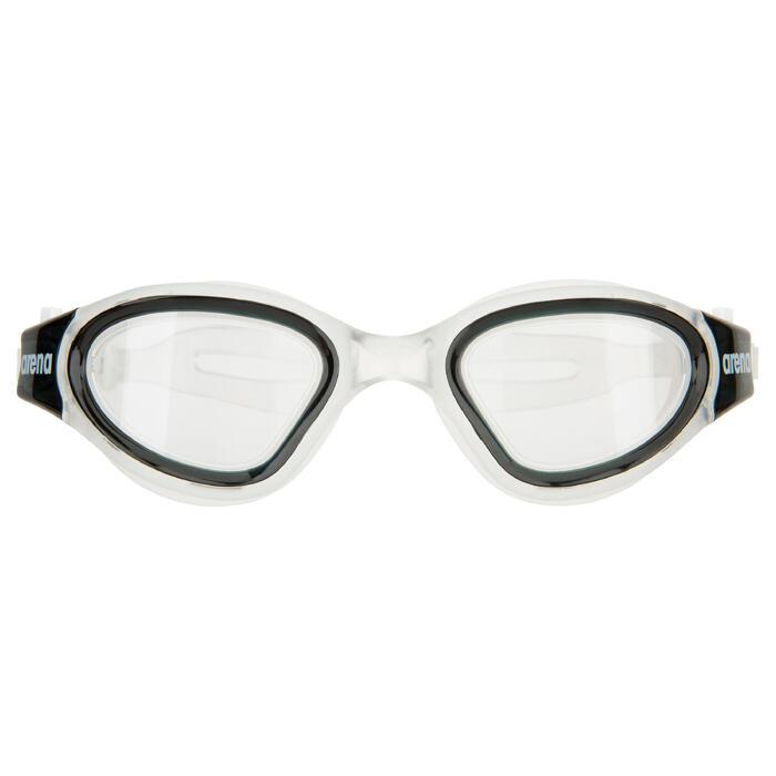 Schwimmbrille Envision klar schwarz