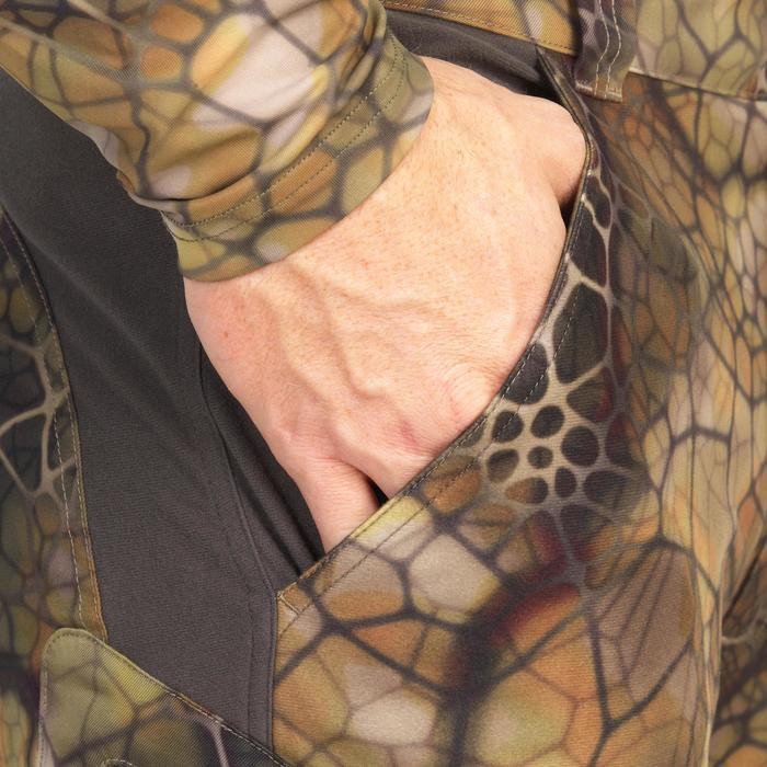 Pantalon chasse Actikam 500 Camouflage Furtiv - 1107765