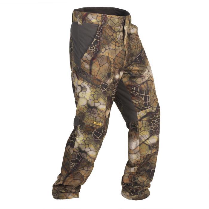 Pantalon chasse Actikam 500 Camouflage Furtiv - 1107768