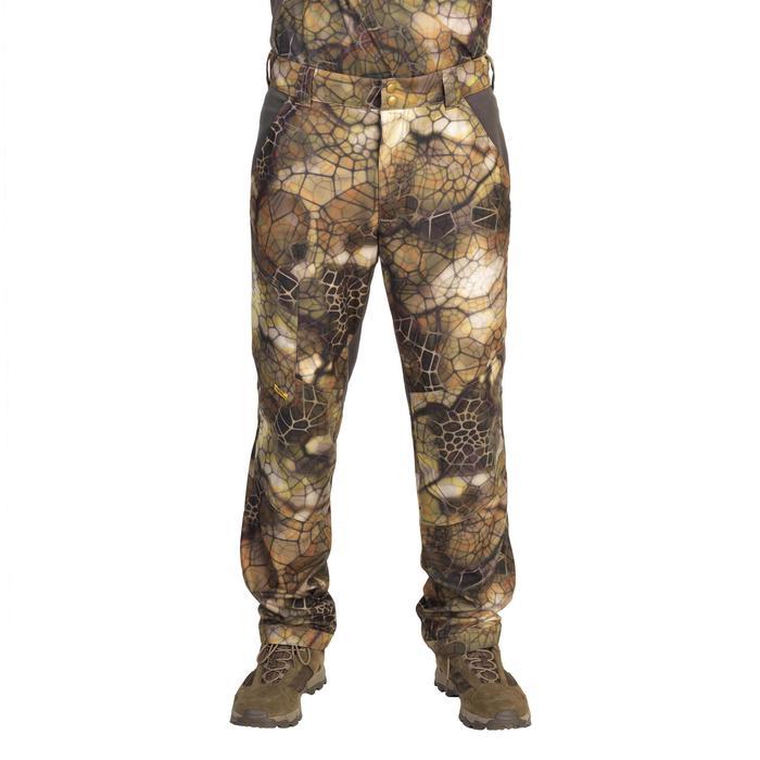 Pantalon chasse Actikam 500 Camouflage Furtiv - 1107771
