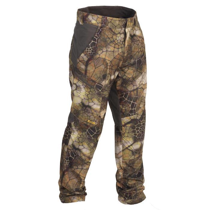 Pantalon chasse Actikam 500 Camouflage Furtiv - 1107773
