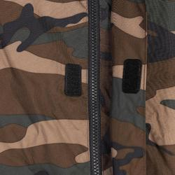 CHAQUETA CAZA Solognac SIBIR 100 Calida CAMUFLAJE Militar WOODLAND VERDE