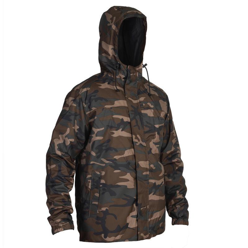 Warm Half-Tone Camouflage Jacket - Khaki