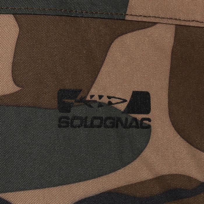 Chaqueta Caza Solognac BGp Sibir 100 Calida Camuflaje Verde