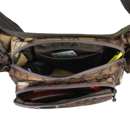 SAC BANANE CHASSE 7 LITRES X-ACCESS CAMOUFLAGE FURTIV