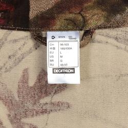 Jagdjacke Actikam 100 Baumwolle camouflage/braun