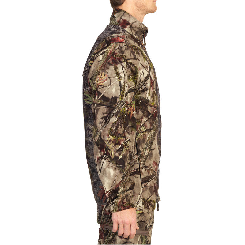 ACTIKAM 100 HUNTING JACKET - CAMOUFLAGE BROWN